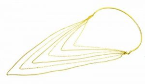 Collier rigide or jaune - faites des affaires TOP 6 image 0 produit