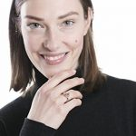 Happiness Boutique Femmes Bague Géométrique en Plaqué Or Rose | Bague Fermoir Cercle Ouvert et Barre Toggle Ring Open Circle and Bar de la marque Happiness Boutique image 3 produit