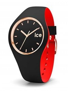 ICE-Watch - 007226 - Loulou Black Rose-Gold - Montre Femme - Cadran Noir - Bracelet Silicone Noir de la marque ICE-Watch image 0 produit