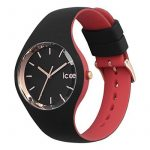 ICE-Watch - 007226 - Loulou Black Rose-Gold - Montre Femme - Cadran Noir - Bracelet Silicone Noir de la marque ICE-Watch image 1 produit