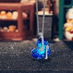 LADY COLOUR - I love you to the moon and back - Collier Femme - cristaux de SWAROVSKI® - la collection CRISTAL COEUR de la marque LADY COLOUR image 2 produit