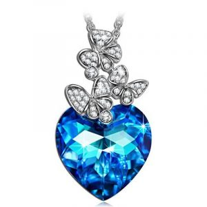 LADY COLOUR - If the Heart Splendor - Collier Femme - Cristaux de Swarovski® - La Collection CRISTAL COEUR de la marque LADY COLOUR image 0 produit