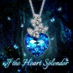 LADY COLOUR - If the Heart Splendor - Collier Femme - Cristaux de Swarovski® - La Collection CRISTAL COEUR de la marque LADY COLOUR image 5 produit
