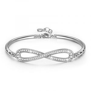 LADY COLOUR - Infini- Bracelet Femme - cristaux de SWAROVSKI® - la collection PARIS VOGUE de la marque LADY COLOUR image 0 produit