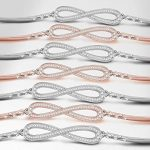 LADY COLOUR - Infini- Bracelet Femme - cristaux de SWAROVSKI® - la collection PARIS VOGUE de la marque LADY COLOUR image 2 produit