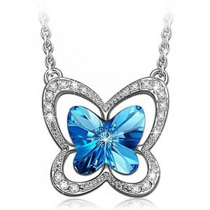 LADY COLOUR - Papillon - Collier Femme - cristaux de SWAROVSKI® - la collection Nature de la marque LADY COLOUR image 0 produit